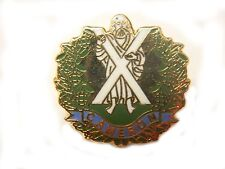 Cameron Highlanders Lapel Military Badge