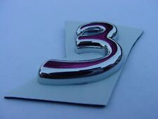 """FORMULA BOAT EMBLEM  # """" 3 """" FOR HULL SIDE OR DASH AREA see others +  PC BR & SS"""