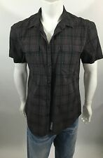Calvin Klein Short Sleeve Checked Shirt XL