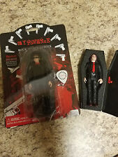 SUPER RARE My Chemical Romance Action Figure Set of 2 Gerard & Mikey Way 2005