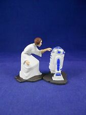 Star Wars Action Masters 1994 Princess Leia and R2-D2  Die Cast - Kenner - Loose