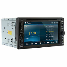 "Double 2Din 6.2"" In Dash Stereo Car DVD CD Player Bluetooth Radio iPod SD/U"