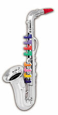 WORKING SAXOPHONE MUSIC KIDS PLASTIC TOYS learn play little musician Instrument