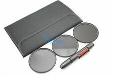 77mm IR720nm + IR850nm + IR950nm IR Infrared filter set for DSLR + FREE LENS PEN
