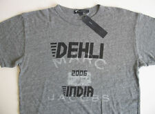 Marc by Marc Jacobs Gray Grey Graphic Short Sleeve T Shirt Tee Dehli India New L