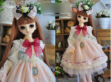 1/4 bjd MSD MDD girl doll dress outfits set dollfie dream luts #SD-133M ship US