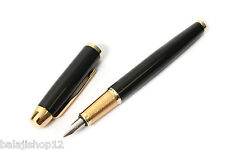 Parker IM Fountain Pen with Gold Trim - Medium Nib - Black