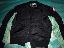 Billionaire Boys Club MA-1 Jacket Men Sz Medium nwt new ds bomber varsity black