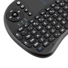 Mini Wireless Black Keyboard Touchpad For Pad- PC- Google Android 2.4 TV UK