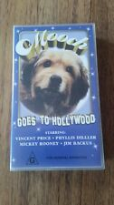 MOOCH GOES TO HOLLYWOOD - VINCENT PRICE,MICKEY ROONEY-   VHS VIDEO