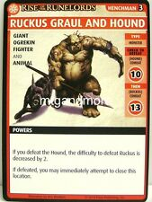 Pathfinder Adventure Card Game - 1x Ruckus Graul and Hound - The Hook Mountain