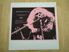 JETHRO TULL ~ PROVIDENCE USA MARCH 08 1975 ~ LP ALBUM ~ RARE ~ ONLY A FEW MADE