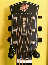 National Resophonic Radio Tone Bendaway Resonator Acoustic Guitar Unplayed 2014