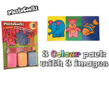 - 40% PLASTOCOOLKI - 3pack Collage Foam Modelling Clay Better than PLAY DOH