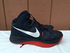 Nike Hyperfuse 525022 401 Basketball Shoes Sneakers Mens US 8.5 EUR 42 Navy