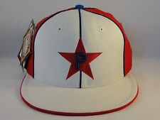 Philadelphia Stars Negro League Headgear Size 7 1/8 Fitted Hat Cap White Red