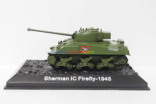 1 x New 1/72 Diecast Tank British UK Sherman IC Firefly 1945 WWII Military Model