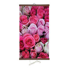 Infrarouge Chauffe Flexible Image mural Chauffage Panel 220V 400W Roses