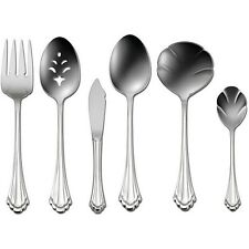 Oneida Marquette 6 Piece Hostess and Serving Set 18/8 Stainless Flatware