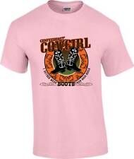 Confessions of A Cowgirl Rather Wear Boots Than High Heels T-Shirt