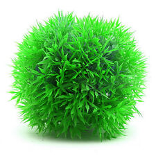 Artificial Glow Fish Grass Silicone Plant Coral Ornament Aquarium Fish Tank P