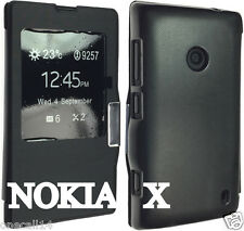 FOR NOKIA X DUAL SIM RM 980 PU LEATHER CASE COVER FLIP WALLET POUCH BACK HOT