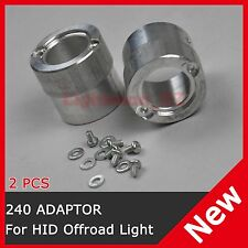2 PCS HID Conversion Adaptor for Lightforce 140 170 STRIKER 240 BLITZ Offroad H3