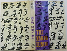 WILLIAM S. BURROUGHS The Naked Lunch FIRST EDITION