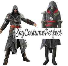 Assassin's Creed Revelations Ezio Auditore da Firenze Cosplay Costume FREE SHIP*