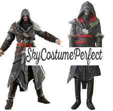 Assassin's Creed Revelations Ezio Auditore da Firenze Cosplay Costume FREE SHip