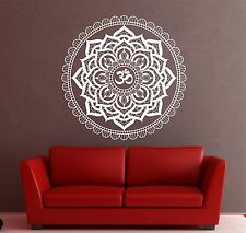 Mandala wall decal om Indian Buddha Yoga Fatima, Mandala Ganesh Lotus Namste