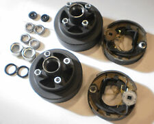 "Add Electric Brakes to Trailer Basic Kit 2000# Axle 4 x 4 Lug 7"" Drum"