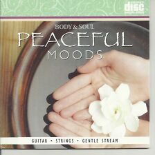PEACEFUL MOODS GUITAR AND STRINGS GENTLE STREAM RELAXATION SPA MUSIC CD