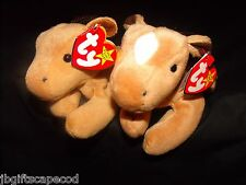 2 LOT - DERBY BEANIE BABY- BOTH DIFFERENT- COURSE & FINE MANE- 1 WITH DIAMOND