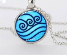 NEW Avatar the Last Airbender, Legend of Korra Water Tribe Glass Necklace,