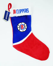 "Los Angeles Clippers Christmas Stocking 18"" Long New NBA Basketball"