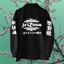 Arizona Green Tea Coach Jacket vaporwave sad boys long sleeve yung lean L NEW