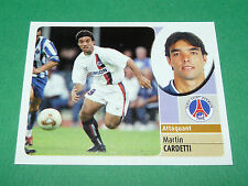 MARTIN CARDETTI PARIS SAINT-GERMAIN PSG PANINI FOOT 2003 FOOTBALL 2002-2003