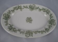 Antique Greenwood China Ironstone Hotel Side Plate Soap Dish c1886 Aesthetic