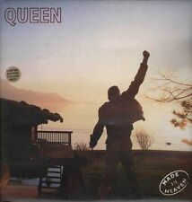 "QUEEN FREDDIE MERCURY ""MADE IN HEAVEN"" RARE LP LIMITED WHITE VINYL 1995 - MINT"
