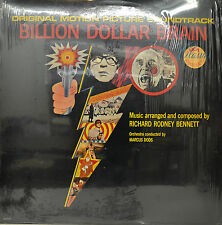 "OST -SOUNDTRACK - BILLION DOLLAR BRAIN - RICHARD RODNEY BENNETT 12""  LP (M937)"