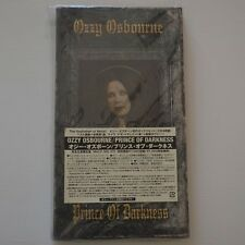 OZZY OSBOURNE - PRINCE OF DARKNESS - JAPAN 4CD BOX SET