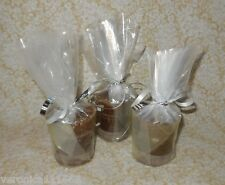 Nag Champa 3 Votive Herbal Candles NEW Crystal Journey Increase concentration