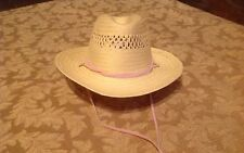 "For 18"" American Girl Doll Accessories WESTERN STRAW COWBOY HAT FOR NICKI    New"