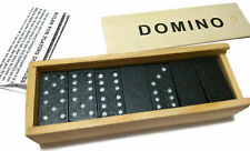 28pcs Dominoes Set Wooden Box Traditional Board FREE SHIPPING !!!