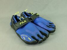 Fila Skele-toes Running Shoes EZ Slide Water Barefoot Sneaker Blue US 7 EU 39