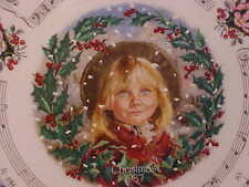 """Royal Doulton 1987 Christmas Plate """"The Holly & The Ivy"""" Made in Eng Bone China"""