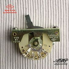 SELETTORE per STRATOCASTER USA 5 way CRL Electroswitch Leva Switch Strato
