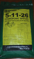 Southern Ag 5-11-26 Hydroponic Special 25lb. Bag Soluble Fertilizer Plus Minors
