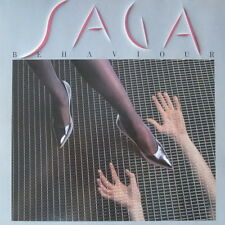 "12"" Saga Behaviour (Listen To Your Heart, Easy Way Out) 80`s Virgin Bon Aire"